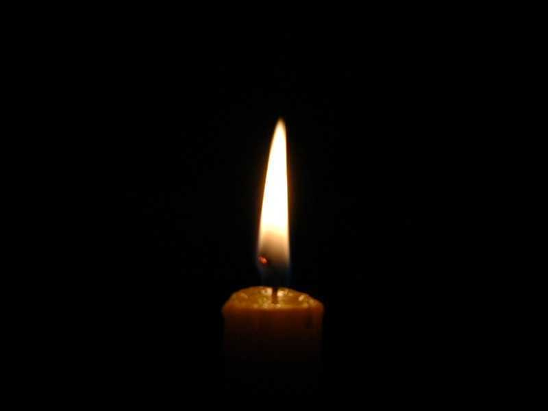 Candle in Darkness - Earth Hour