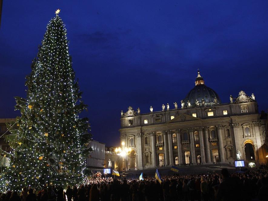 Christmas Tree, Vatican City, 2011
