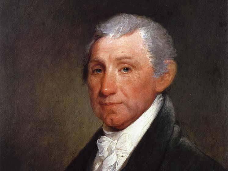 James Monroe, 1817, by Gilbert Stuart