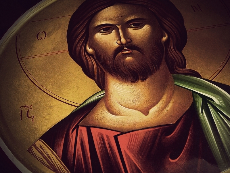 Christ Icon - Alpha Omega - IC XC